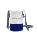 Aspire Custom Canvas Bucket Shoulder Bag,  8 1/4