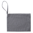 Aspire SAMPLE Canvas Zipper Bags with Wristlet, 11 x 8 Inch Multipurpose Pouch