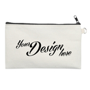 Aspire Custom Canvas Zipper Pouches with Metal Ring, 12Oz Cotton Canvas Storage Bag