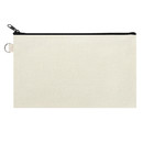 Aspire Sample Canvas Pouch with Metal Ring, Coin Purse 7 3/4