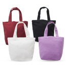 Aspire 12oz Cotton Canvas Tote Bags, Flat Bottom, Design Your Own Party Favor Bags