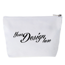 Aspire Custom Canvas Cosmetics Bags for Bridesmaid, 7 1/2