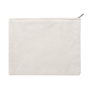 Aspire Blank SAMPLE 12oz Cotton Canvas Zipper Bags, 8 x 6 Inches Storage Bag