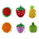 Aspire Creative Cartoon Fruit Coin Pouch with Ball Chain, Cute Keychain Purse
