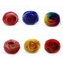 Aspire 3D Rose Design Plush Zipper Coin Purse, 4