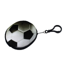 Aspire Soccer Plush Pouch with Ball Chain, Keychain Decorations, 3 Inch
