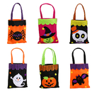 Aspire Halloween Bags for Trick or Treat, Candy Carry Bag,  7