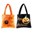 Aspire Halloween Tote Bags for Kids, Reusable Halloween Party Bag, 10