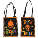 Aspire Halloween Bag of Treats, Grocery Candy Goodie Totes Bag