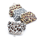 Aspire Leopard Print Coin Purses, Kiss Lock Coin Purse, Women Key Pouch
