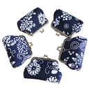 Aspire Floral Buckle Coin Purse, 3 9/16