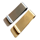 Aspire Classic Metal Money Clip - Silver / Golden