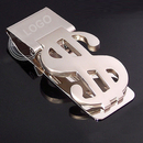Aspire Custom Metal Money Clips with Dollar Sign - Engraved