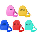 Aspire Custom Silicone Coin Purse, Backpack Shape Wallet with Keychain for Storing Money, Coin, Earphone, Key, Mini Organizer