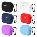 Aspire 6 Pcs AirPods Pro Case Cover, Silicone Protective Case with Carabiner, Designed for AirPods 3, Front LED Visible
