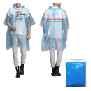 GOGO Personalized Adult Disposable Rain Ponchos, Adult Unisex Waterproof Poncho