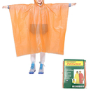 GOGO Custom Children Rain Poncho, Disposable Ponchos with Drawstring Hood
