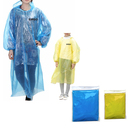 GOGO Personalized Parent / Child Emergency Rain Poncho with Drawstring Hood and Sleeves