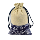 Aspire 100 Pieces Floral Linen Favor Bag, Gift Bags, 4 x 5 1/2 Inch
