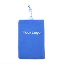 Aspire Custom Cellphone Velvet Pouch, Double-layer Cell Phone Bag - 3 Sizes