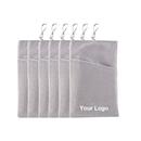 Aspire Custom Cellphone Velvet Pouch, Microfiber Sleeve Cover Case Pouch, 4 Sizes
