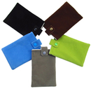 Aspire Cellphone Velvet Pouch with Button, Microfiber Sleeve Cover Case Pouch, 2 Sizes