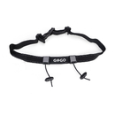 GOGO Custom Reflective Triathlon Race Number Belt, Marathon Accessories