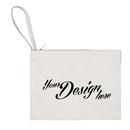 Price/10-Pack Design Your Own Cotton Canvas Bag - Personalized Makeup Travel Pouches, 11 x 8 Inches