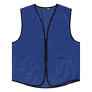 Custom Supermarket Vest / Apron Vest For Clerk Uniform Vest With Zipper Closure