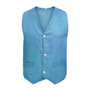 Front Button Vest W/Pockets Twill Volunteer Activity Vest, Waistcoat For Children & Teenagers