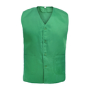 Custom Vest For Supermarket Clerk Work Uniform Vests With Pockets & Front Button