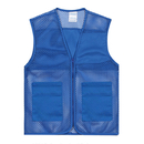 Custom Mesh Volunteer Vest Activity Team Uniform Supermarket Vest With Pocket