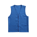 Adult Volunteer Uniform Vest Polyester Zipper Supermarket Activity Vest