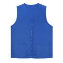 Adult Volunteer Uniform Vest Polyester Zipper Supermarket Activity Vest