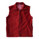 Women Fleece Vest Mountain Vest Volunteer Activity Vest with Pockets & Zipper