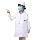 Kid's Lab Coat with Cap, For Kid Scientists or Doctors