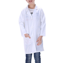 Childrens White Lab Coat Kids Doctor Costume