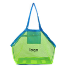 Custom Large Beach Bags Mesh Organizer Tote Bags Stay Away From Sand for Children, 17.72