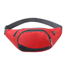 GOGO Personalized Adjustable Waistband Nylon Outdoor Cycling Fanny Packs, Size 7 7/8