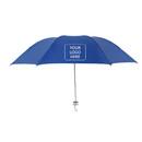 Folding Umbrella with Teflon Sliver Coating, Travel Windproof UV Light Weight Umbrellas