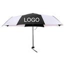 Double Colors Folding Manual Umbrella 42 inch Travel Windproof Umbrellas