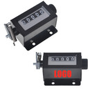 Personalized Industrial Stroke Counter, 5 Digit Manual Mechanical Counter Clicker