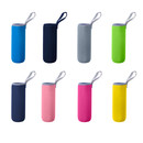 Aspire Blank Insulated Glass Bottle Covers, 11 / 16 Ounce Neoprene Camping Portable Cup Sleeve 2-3/4