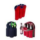 Aspire Wholesale Wine Tote Bags Neoprene Beer Holders Insulated Bottle Storage 3 / 4 / 6 Pockets