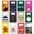Personalized Credit Card Bottle Openers Color Imprint Stainless Steel Beer Cap Opener Size Fit for Your Wallet