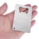 Credit Card Bottle Opener, Blank Stainless Steel Opener For Wholesale