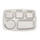 Custom Wholesale Fast Food Tray with 5 Compartment 14