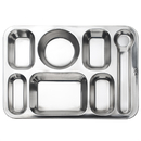 7 Compartment Dinner Tray 15