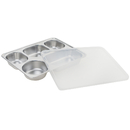 5 Compartment Reusable Lunch Tray 11.2