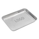Custom 304 Stainless Steel Tray Cookie Sheet Baking Pan Serving Tray, Add Your Logo